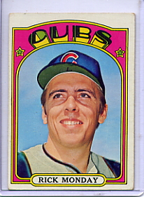 1972 Topps Baseball Cards      730     Rick Monday